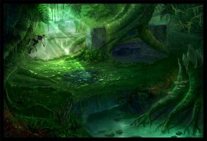 Green Hell by BlueRogueVyse