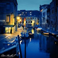 Dusk in Venice by IsacGoulart
