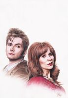 The Doctor and Donna by Sini-M