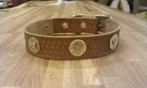 12gauge dog-collar by Kristiantyrann