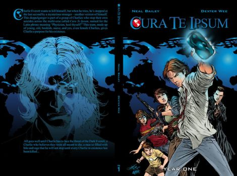 CURA TE IPSUM year one cover by dexterwee