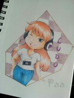 Girl Gamer - Ludo by Paa-H