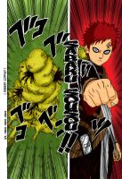 Gaara Sand Coffin Chapter 215 by l3xxybaby