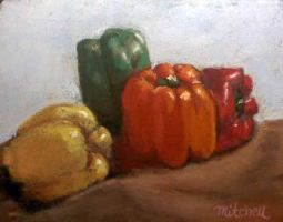 Four Peppers by MountainInspirations