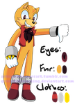 Mobian Adoptable: Wolverine (3/9/17) by GreenhillZoneKing