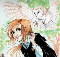 The girl from Ravenclaw by maru-redmore