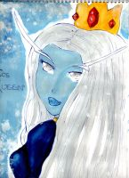 ICE QUEEN by alex-la-eriza