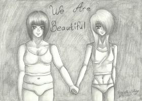 We Are Beautiful by YamisGuardianAngel
