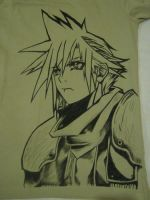 Cloud Final Fantasy Tshirt by SukaMonga