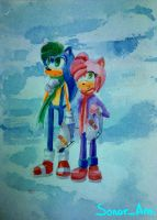 Sonamy (watercolor) by AmeliaPearce22