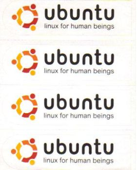 ubuntu stickers by SuprVillain