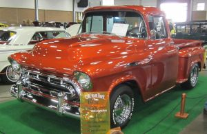 57 Chevy pickup by zypherion