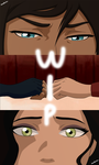 Korra and Asami Video Comic WIP #3 by SandraLVV