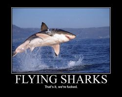 --Flying Sharks-- by NerinSerene