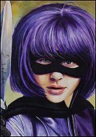 Hit-Girl by DavidDeb