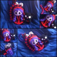 Wicked Lulu amigurumi from League of Legends by ForgottenMermaid