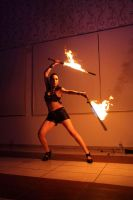 Fire Samurai Sword 6 by aliceinflames