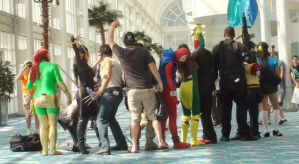 Behind the Scenes at Long Beach Comic Con 2013 by trivto