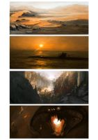 15-30 minute Speed Paintings by funkychinaman