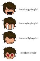 LEO VALDEZ emoticons! by neeann