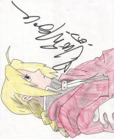 Ed Elric Signed by Benji-the-squirrel