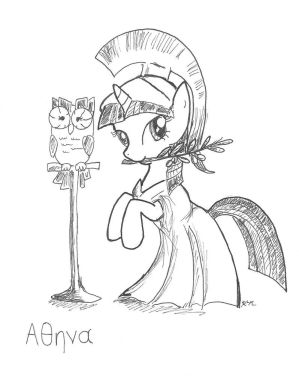 Athena Twilight Sparkle