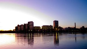 Gatineau at sunset by TortueBulle