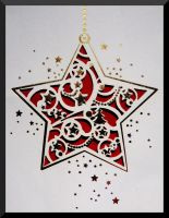 stars for Christmas by Dieffi
