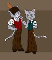 The Hill brothers colored by Patchminka