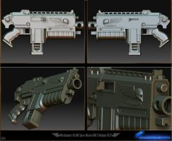 Boltgun MKII by HawkSilk