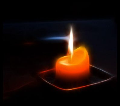fractal candle by p0ks