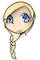 Girl with Braids by WaterKeldeoPony