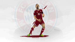 Franck Ribery| Vector Wall by midosamir89