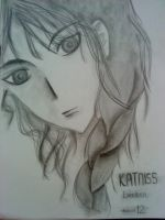 Katniss Everdeen by musicto-myears