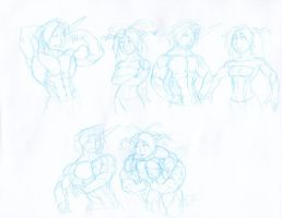Real muscles (wip) by astaroth90