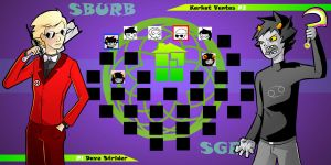 Homestuck The Game Dave VS Karkat by Video320