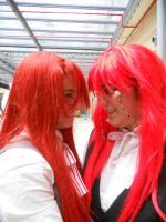 Two Grell are better than one by haganeno91