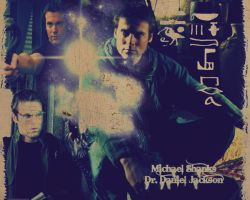 Michael Shanks-Daniel Jackson by Hututa