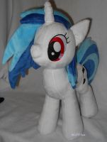 Vinyl Scratch no shades by MLPT-fan