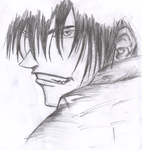 Kyo incomplete sketch by xeruro