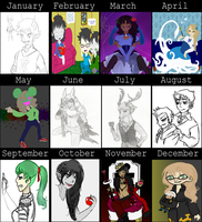 Art Summary 2013 by traffycake