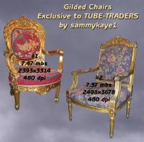 Gilded Chairs by sammkaye1 by TUBE-TRADERS