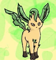 Riley the Leafeon by Tennessee11741