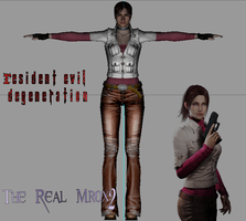 Claire Redfield Degeneration by Therealmrox2