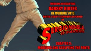 Mudbox Sculpt Video Course Part 3: Sculpting the P by SergioMengual2012