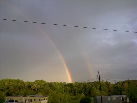 Double Rainbow by traindiesel