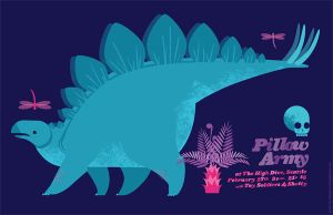 Pillow Army Dinos 2 by chibighibli