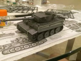 TIGER I MODEL 1/48 Size UNPAINTED by ProfessionalPuppy