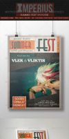 Summer Fest - V4 - Flyer Template - Imperius by ImperiusDesigns