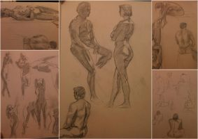 2nd april 2013 - gesture collage by LutherTaylor